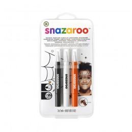 Snazaroo Holloween - make-up pensel tusser