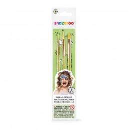 Snazaroo Makeup Pensler 3stk.