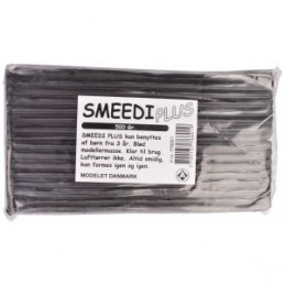 Smeedi Plus Modellervoks Sort 500g
