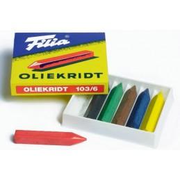 Filia Oliekridt 6 stk.