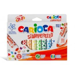 Carioca Stempel Tusch 12 stk.
