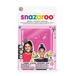 Snazaroo - Stencils Pige 6stk.