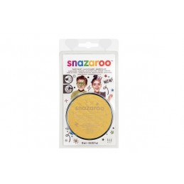 Snazaroo sminkefarve 18ml Guld